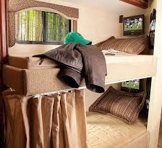 Best RVCamper Images On Pinterest Rv Campers Bunkhouse And - Rv bunk beds