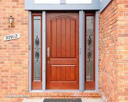 Oak Exterior Door by Exterior Doors With Glass Traditional Oak Front Door U2013 Modern