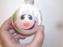 painted snowman ornament free personalization flickr