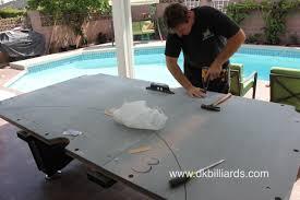 outdoor pool table dk billiards u0026 service orange county ca