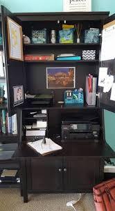 my new office corner hemnes secretary and offices