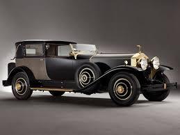 1929 rolls royce phantom riviera town brougham by brewster