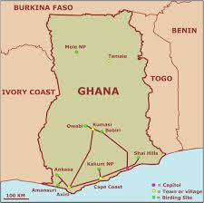Map Of Ghana Mcgehee Fifth Grade English March 2013