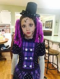 Broken Doll Halloween Costume Gothic Rag Doll Costume Daughter