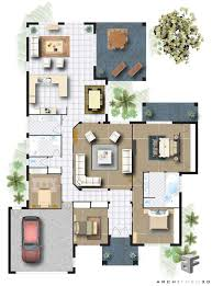 fine colored house floor plans 1 quarto intended decorating ideas
