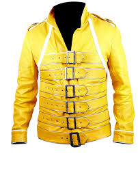 freddie mercury halloween costume queen rock band freddie mercury yellow costume