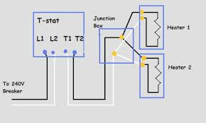 baseboard heater thermostat wiring diagram efcaviation com