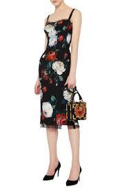 floral cocktail dress by dolce u0026 gabbana moda operandi