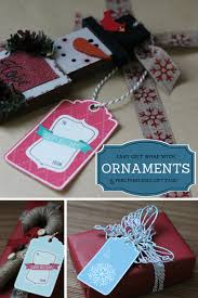 easy gift wrapping with ornaments free printable gift tags