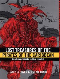lost treasures pirates caribbean book james