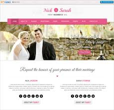 wedding web 39 wedding website themes templates free premium templates