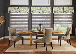 Dining Room Bay Window Treatments - sheer shades we measure u0026 install budget blinds