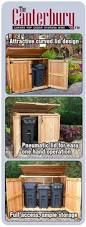 6x3 oscar trash can storage shed outdoor living storage and yards