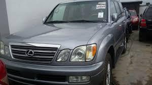 used lexus car for sale in nigeria accident free tokunbo 2005 lexus lx470 5 1m in lagos autos