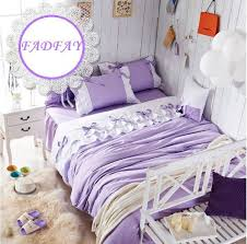 Dorm Bedding For Girls by Details About Cute Purple Dorm Bedding Romantic Beautiful Bed Set