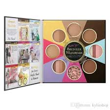 professional makeup books brand faced the black book of bronzers blush