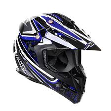 motocross helmets stealth helmet hd210 mx blue droid