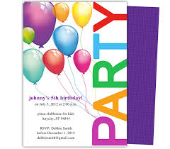 best compilation of free birthday party invitations templates