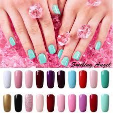 smiling angel primer gel nail polish french manicure soak off gel