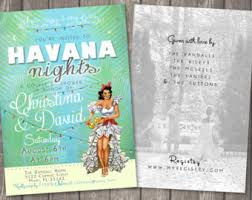 havana nights cuban save the date cards birthday by nuanceink