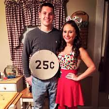 gumball machine u0026 quarter couples diy halloween costume random