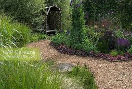 gap gardens herbaceous border and ornamental grass border with