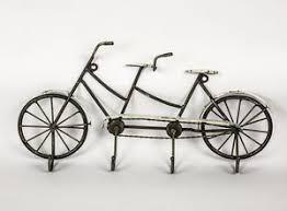 metal vintage style tandem bicycle bikes sculpture push bike