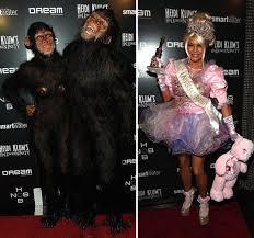 Monkey Halloween Costumes Heidi Klum Monkey Costume Halloween Pictures Popsugar Celebrity