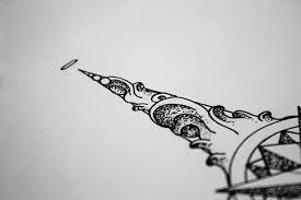 wind rose tattoo design on behance