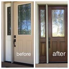 How To Stain Mohagany Doors Youtube by How To Stain Door Fresh Furniture