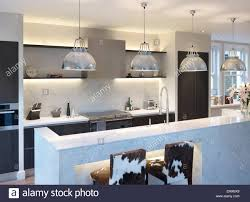 modern kitchen pendant lights modern kitchen with pendant lights above island unit residential