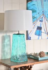 Blue Glass Table Lamp Sea Green And Blue Glass Table Lamps Http Www