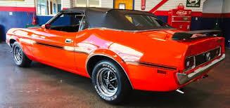 orange mustang convertible 1972 ford mustang convertible in orange cars