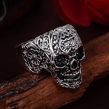 mens rings skull images Buy 2018 punk vintage trend men 39 s ring gothic jpg