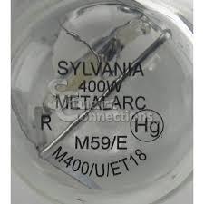 sylvania metalarc metal halide e39 et18 400w 4k mogul bulb m59