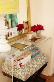 Clear Acrylic Desk Table Clear Acrylic Butterfly Base Lamp
