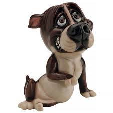 staffordshire bull terrier ornaments figurines ebay