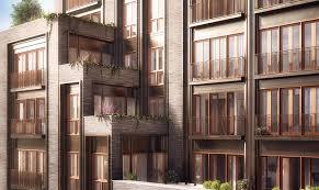 Apartment Design  West Th - Apartment facade design
