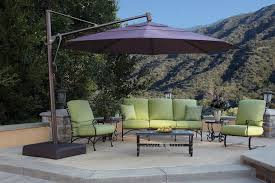 Cantilever Patio Umbrella Cantilever Patio Umbrella With Lights Cookwithalocal Home And