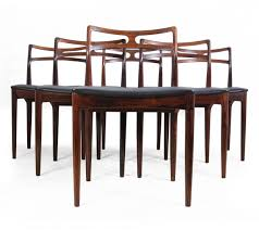 Dinette Chairs by Model 94 Dining Chairs By Johannes Andersen For Christian