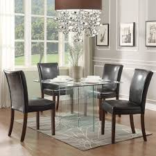 Black Wood Dining Room Table by Dining Room Upholstered Crate And Barrel Dining Chairs For Dining