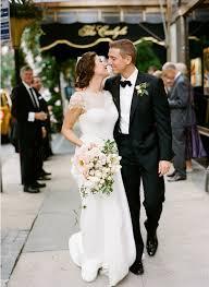 black and white wedding lace wedding dress pink white peony