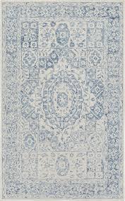 Pale Blue Rug Surya Serafina Srf 2018 Rug Plushrugs Com