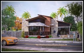 Dream Home Blueprints Philippine Dream House Design Post Modern Home Plans