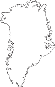 blank political map of canada outline map of greenland outline map