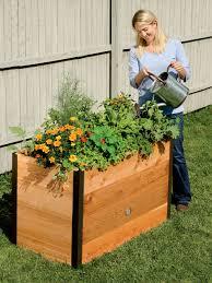 Diy Railing Planter Box by Raised Planting Box 2 U0027x 4 U0027 Cedar Raised Garden Made In Vermont