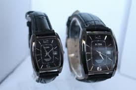 Jam Tangan Alba Pasangan jam tangan murah pasangan alba ljg date leather 2 jevon s shops