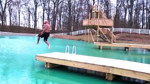 Romanatwoodvlogs Water Challenge Jumping Into Water Ouch