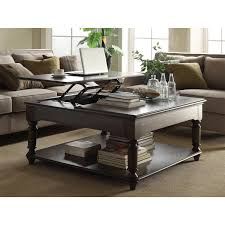 how to decorate a square coffee table appealing dark brown modern wood square lift top coffee table with