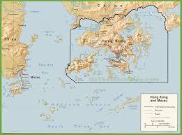 World Political Map by Hong Kong Political Map